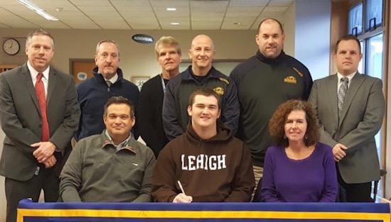 "<span style=""overflow: hidden; float: left; width: 360px;"">New Hope senior Matt Fest will continue his football career at Lehigh University.</span> <span id=""fa_link"" style=""float: left; text-align: center; width: 151px; height: 22px;""><a href=""/college-signings/content/new-hopes-fest-commits-play-football-lehigh""><img src=""/profiles/s1s/themes/s1s_classic/images/main_fullarticle.gif"" style=""position:relative;""/></a></span>"