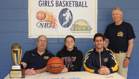 "<span style=""overflow: hidden; float: left; width: 360px;"">New Hope-Solebury senior Sarah Wilson signed a letter of intent to continue her basketball career at Nyack College.</span> <span id=""fa_link"" style=""float: left; text-align: center; width: 151px; height: 22px;""><a href=""/college-signings/content/new-hope-solburys-wilson-recognized-signing-nyack-college""><img src=""/profiles/s1s/themes/s1s_classic/images/main_fullarticle.gif"" style=""position:relative;""/></a></span>"