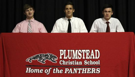 "<span style=""overflow: hidden; float: left; width: 360px;"">Plumstead seniors Kyle Seelig, Justin Brautigam & Andrew Johnson were recognized for committing to play collegiate sports.</span> <span id=""fa_link"" style=""float: left; text-align: center; width: 151px; height: 22px;""><a href=""/college-signings/content/plumstead-seniors-name-college-choices""><img src=""/profiles/s1s/themes/s1s_classic/images/main_fullarticle.gif"" style=""position:relative;""/></a></span>"